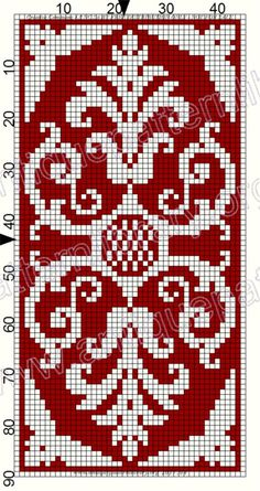 ru / Фото # 127 – Le Filet Ancien au Point de Reprise III – gabbach – The Best Ideas Cross Stitch Borders, Cross Stitch Flowers, Cross Stitch Charts, Cross Stitch Designs, Cross Stitching, Cross Stitch Embroidery, Embroidery Patterns, Cross Stitch Patterns, Tapestry Crochet Patterns