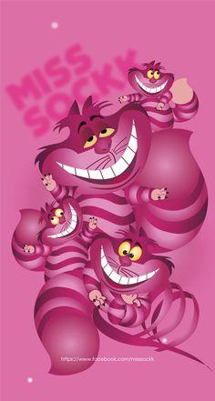 Cheshire Cat Disney, Cheshire Cat Alice In Wonderland, Alice In Wonderland Drawings, Chesire Cat, Alice And Wonderland Quotes, Disney Phone Wallpaper, Wallpaper Iphone Cute, Cheshire Cat Wallpaper, Disney Cases