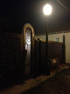 5000 beer bottles at night