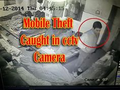 Mobile theft caught in cctv camera