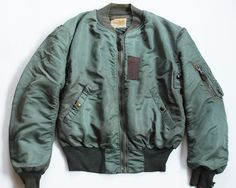50's B-15D Military Bomber Jacket, Military Jackets, Bomber Jackets, Jacket Men, School Fashion, Fashion Wear, Mens Fashion, Military Fashion, Military Clothing