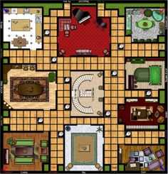 clue game board printable clue board game pinterest clue