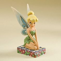 WALT DISNEY TRADITIONS Jim Shore Figurine A Pixie Delight 4011754 TINKER BELL