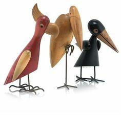 HAGENAUER (1898-1956) BIRDS, CIRCA 1950. (Mid-century)