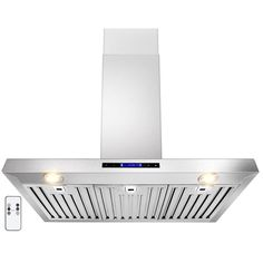 Shop for Golden Vantage Stainless Steel Wall Mount Range Hood. Get free delivery On EVERYTHING* Overstock - Your Online Home Improvement Shop! Stainless Steel Range Hood, Wall Mount Range Hood, Kitchen Hoods, Refinish Kitchen Cabinets, Fireplace Accessories, Range Hoods, Steel Wall, Traditional Kitchen, Kitchen Remodel