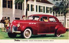 1940 Pontiac Torpedo Eight Four-Door Touring Sedan