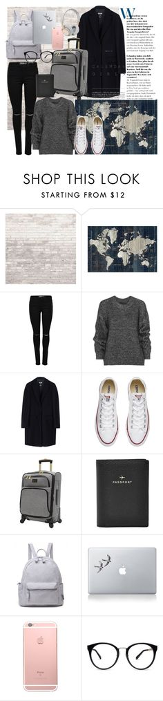 """A love that will lost 🌍✈"" by muffins96 ❤ liked on Polyvore featuring WALL, Belstaff, MSGM, Converse, Nicole Miller, FOSSIL, Vinyl Revolution, B&O Play, Kerr® and adventure"