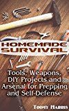 Free Kindle Book -   Homemade Survival: Tools, Weapons, DIY Projects and Arsenal for Prepping and Self-Defense: (Survival Weapons, Survival Skills) Check more at http://www.free-kindle-books-4u.com/sports-outdoorsfree-homemade-survival-tools-weapons-diy-projects-and-arsenal-for-prepping-and-self-defense-survival-weapons-survival-skills/