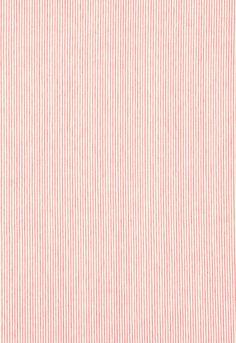 Drapery Fabric, Fabric Decor, Fabric Design, Ticking Stripe, Collar Pattern, Little Girl Rooms, Schumacher, Striped Fabrics, Pink Fabric