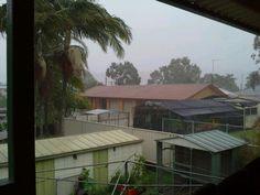 Rain in Lismore