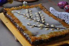 Mazurek bakaliowy_4 no to bedzie trzeba zrobic na swieta My Favorite Food, Favorite Recipes, My Favorite Things, Polish Recipes, Polish Food, Easter 2018, Easter Recipes, Easter Ideas, Sweet Life
