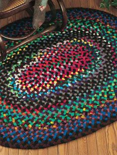 Crochet - Holiday & Seasonal Patterns - Autumn Patterns - Aggie's Braided Rug