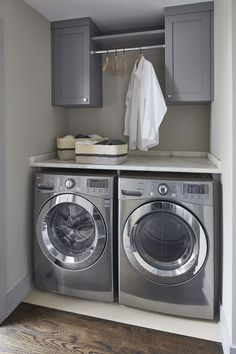 """See our website for additional relevant information on """"laundry room storage diy small"""". It is a superb location to read more. Laundry Nook, Garage Laundry, Modern Laundry Rooms, Laundry Room Layouts, Laundry Room Remodel, Laundry Room Cabinets, Laundry Decor, Laundry Room Organization, Laundry Room Design"""