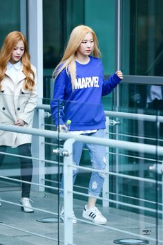 Red Velvet Seulgi Kpop Fashion 	150331 2015