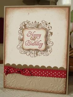Elementary Birthday by arlybeans - Cards and Paper Crafts at Splitcoaststampers