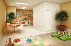 Salão de festas infantil