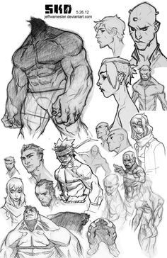 Sketchdump 5-26-2012 by *jeffwamester on deviantART