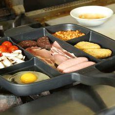 Многосекционная сковорода для раздельного приготовления