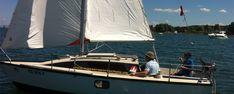 Wochen Segelkurse Boat, Speed Boats, Sailing, Training, Dinghy, Boats