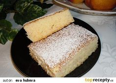 Pudinkový moučník bez mouky recept - TopRecepty.cz Cake Recipes, Dessert Recipes, Desserts, Healthy Cake, Sweet Life, Healthy Cooking, No Bake Cake, Cornbread, Vanilla Cake