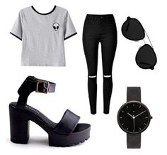 """""""Outfits"""" by ewciatomaszek on Polyvore featuring Chicnova Fashion, I Love Ugly and 3.1 Phillip Lim"""