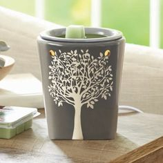 Better Homes and Garden Full Size Warmer, Sculpted Tree