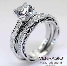 Engagement Rings (with wedding band)