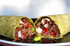 Make a Gluten-Free GMO-Free California Quinoa Salad Wrap with Rudi's Gluten-Free!