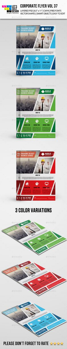 flyer delivery - Pesquisa do Google INSPIRATION Flyers - corporate flyer template