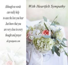 Condolence Deepest Sympathy Cards With Beautiful Messages. Share these lovely sympathy, condolences cards with grief stricken family and friends. Words Of Condolence, Words Of Sympathy, Sympathy Quotes, Sympathy Card Messages, Sympathy Gifts, Sympathy Wishes, Condolences Quotes, Joy And Sadness, Deep Sadness