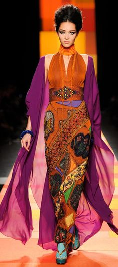 I wanna be a gypsy - jean paul gaultier spring/summer 13 - I wish!