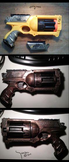 Steampunk Gun by Teezec.deviantart.com https://madburner.com