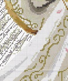angeles, hadas, sirenas y brujas en punto de cruz   Aprender manualidades es facilisimo.com