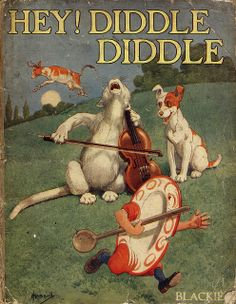 """Hey ! Diddle Diddle"" c. 1927...Illustration by John Hassall"