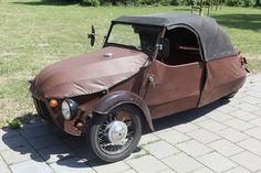 PM 03 Velorex pojazd prod.czechosłowackiej wytwarzany w latach 1945-73 z przeznaczeniem dla inwalidów .