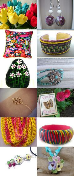 Springtime Favorites by Kaitlyn on Etsy--Pinned with TreasuryPin.com #Estyhandmade #giftideas #freshfinds