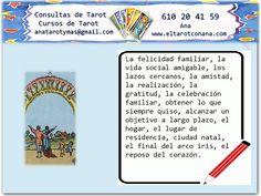 Los Menores del Tarot: DIEZ DE COPAS Tarot Significado, Tarot Learning, Book, Spirituality, Studying, Tarot Decks, Money Spells, Magick, Stone