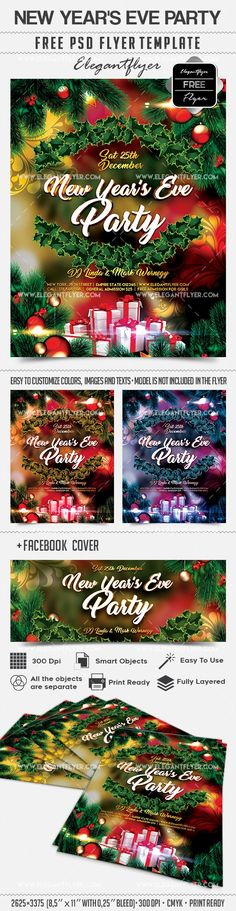 New Year's Eve Party – Free Flyer PSD Template + Facebook Cover https://www.elegantflyer.com/free-flyers/new-years-eve-party-free-flyer-psd-template-facebook-cover/