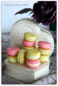 I've always wanted to try to make macarons, but they seem intimidating. Maybe I'll finally try.