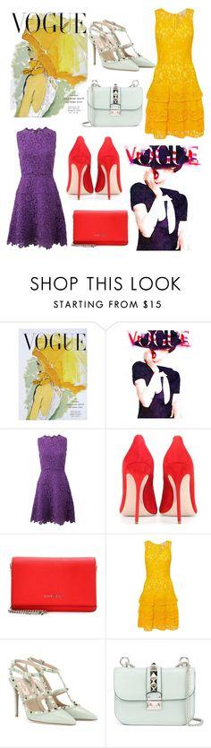 """Vogue #Vogue#OscarDeLaRenta#MichaelKors#Givenchy#GianvitoRossi #Valentino"" by paola-de-fazio ❤ liked on Polyvore featuring Art for Life, Oscar de la Renta, Miu Miu, Givenchy, Michael Kors and Valentino"