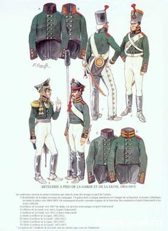 SOLDIERS- Courcelle: Russian Guard Artillery 1804-1815, by Patrice Courcelle.