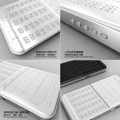 The Ultimate Braille Phone    DrawBraille Mobile Phone is one of the most compelling concepts that focus on making mobile phones easy-to-use for the blind. The entire UI and input keys are in Braille and even the touch panel reflects this system. The design and approach have a surreal finish to it and I am quite sure that Shikun Sun is on to something big with this!