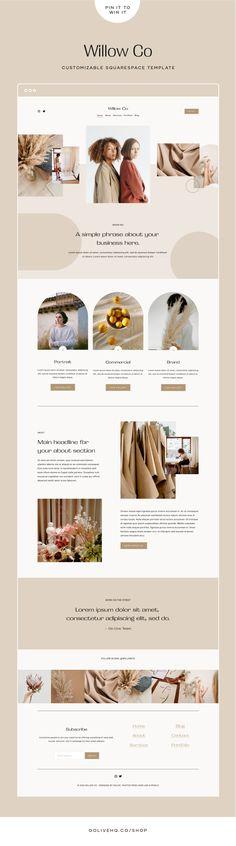 Website Design Inspiration, Simple Website Design, Modern Website, Website Layout, Layout Inspiration, Minimal Web Design, Branding, Brand Identity Design, Ux Design