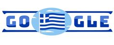 ... for our Greek National Day 25th March (1821) ! Thanks Google <3  Happy Independence Day to Ελλάδα (Greece). Our ancestors fought hard to be where we are now. Εθνική Επέτειος της 25ης Μαρτίου 1821