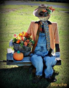 The Country Farm Home: Scarecrows I've Known