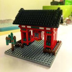 «I've really got to stop buying these nanoblock models... #nanoblock #lego #kaminarimon #Japan #Tokyo»