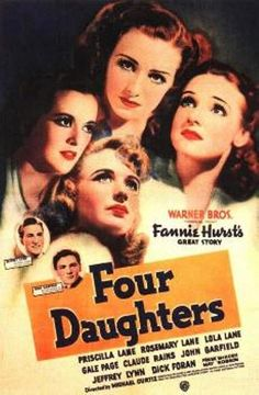 John Garfield and Priscilla Lane - Four Daughters, 1938