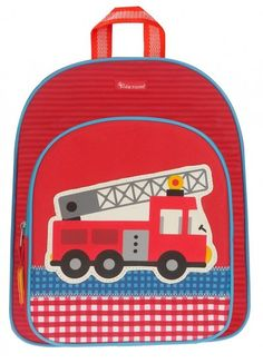 Rugzak Kidzroom Firefighter Brandweer - Springin.nl, De Webshop voor uniek speelgoed & leuke tassen!