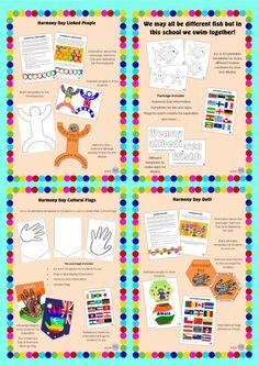 Harmony Day Mega Bundle by KR Learning