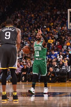ca672dc42735 Kyrie calling a play to embarrass the warriors  clever Basketball Hoop